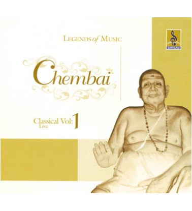 CHEMBAI CLASSICAL VOCAL VOL 1 - Audio CD