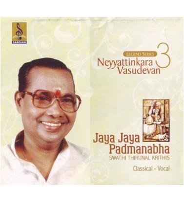 JAYA JAYA PADMANABHA - Audio CD