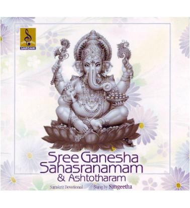SREE GANESHA SAHASRANAMAM - Audio CD