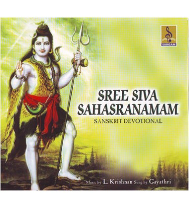 SREE SHIVA SAHASRANAMAM - Audio CD